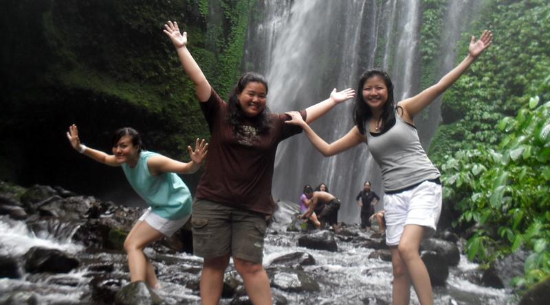 Waterfall Tour Lombok