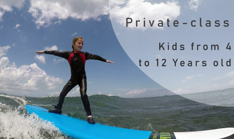 Beginner Surf Lesson for Kids