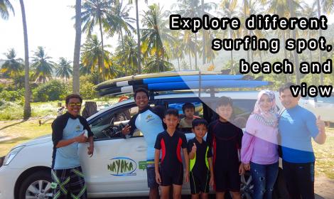 BEGINNER SURF TRIPS