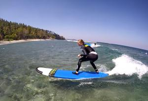 Private class for beginner surf lesson